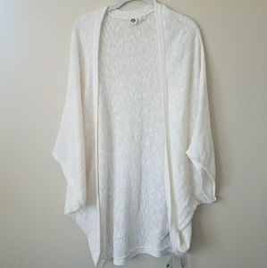 Roxy cotton cocoon sweater